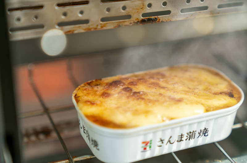 お皿も使わない!さんま蒲焼マヨネーズのレシピ