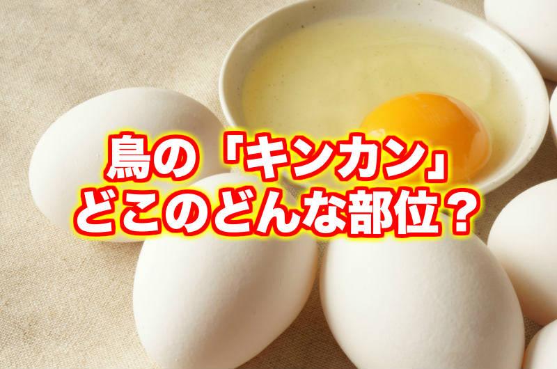 鶏のキンカンとはどこの部位?食べ方や栄養について徹底解説!